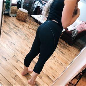 Lululemon Leggings Cropped Black